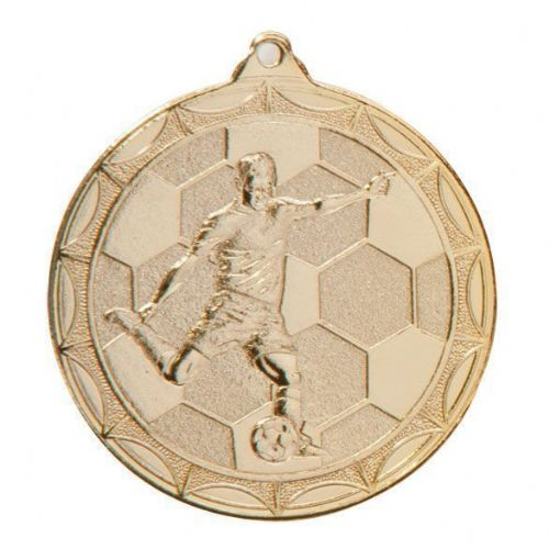 Impulse Football Medal Gold 50mm